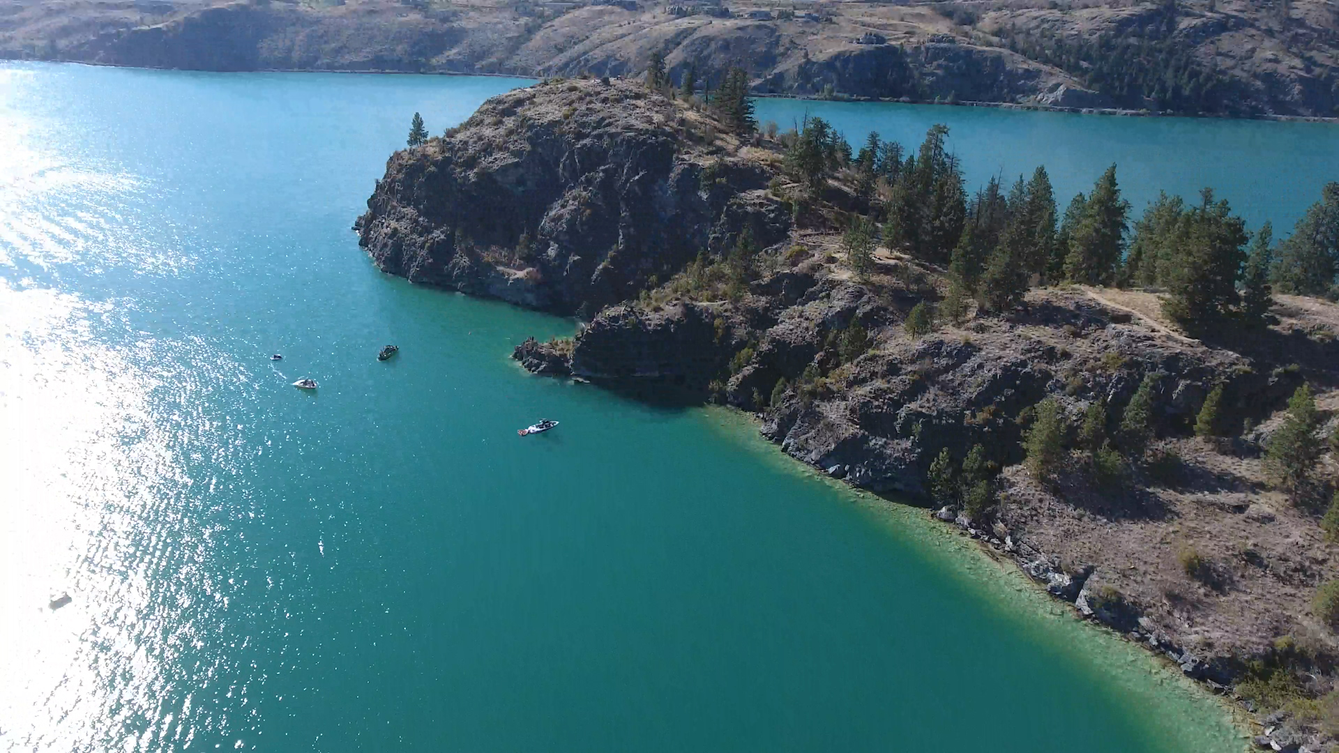 Kalamalka Lake Provincial Park - Cosens Bay & Cliffs