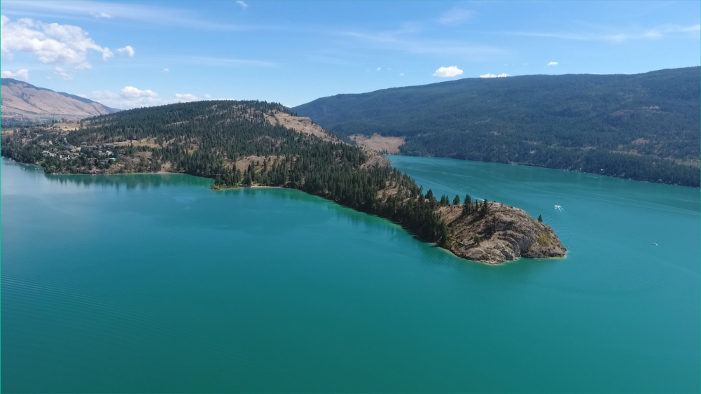 Why Kalamalka Lake is Green - Rattlersnake Point